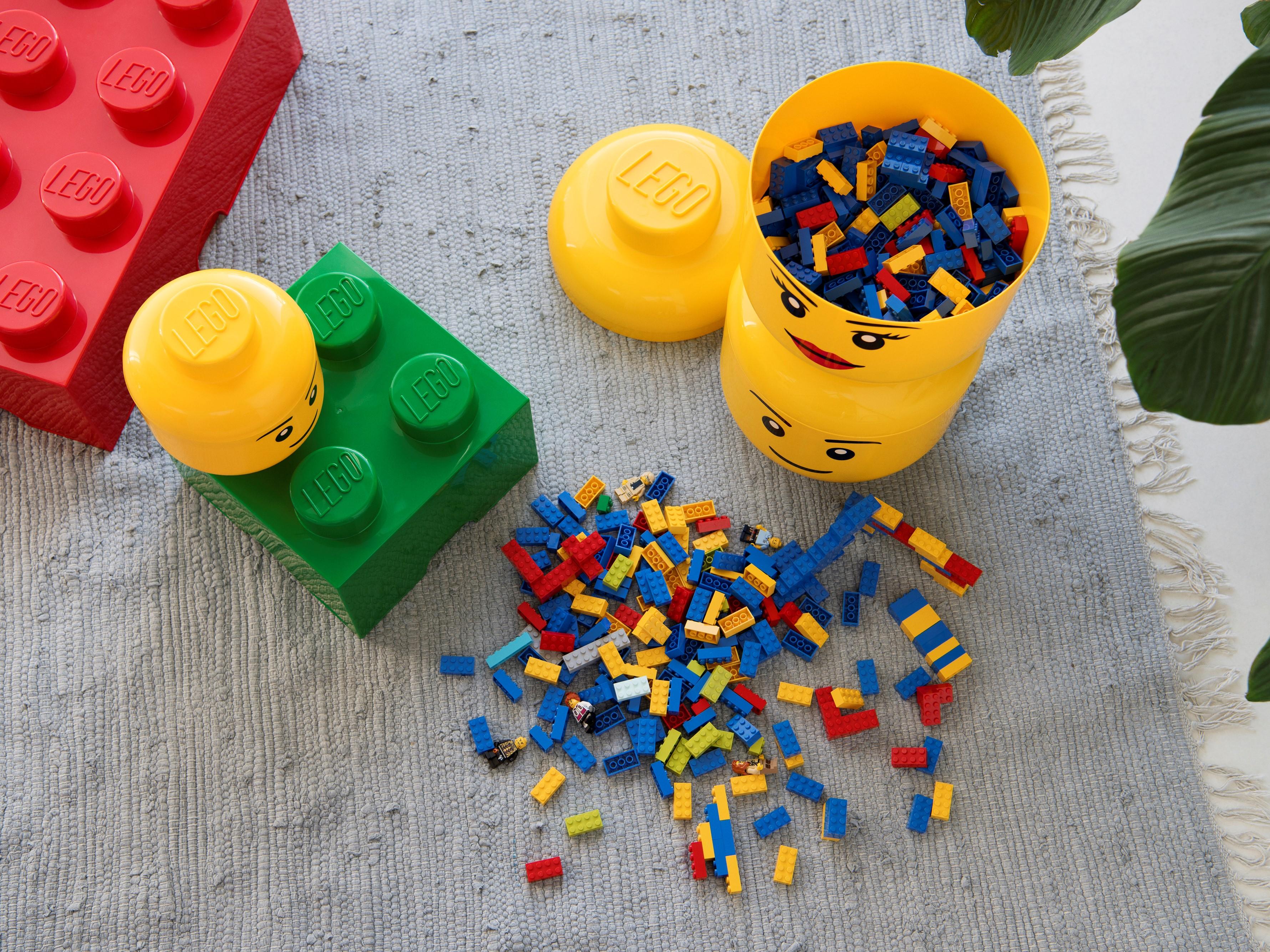 4 LEGO Storage 40321724 Opberghoofd - Jongen LargeDeze overzised LEGO-hoofden zijn. Lego Boy Storage Head Large 5005528 Other Buy Online At The Official Lego Shop Us