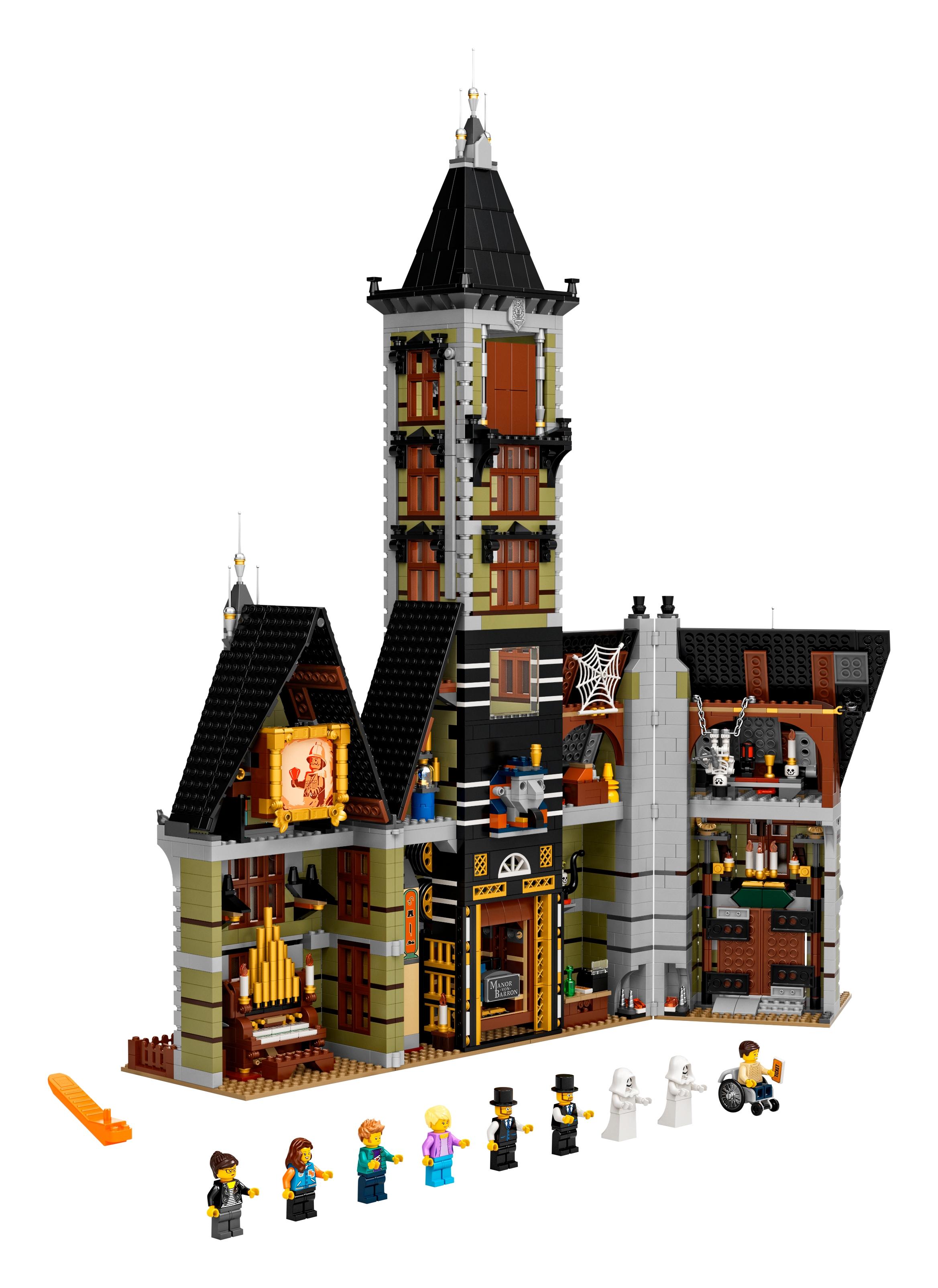 Geisterhaus Auf Dem Jahrmarkt 10273 Creator Expert Offiziellen Lego Shop Ch