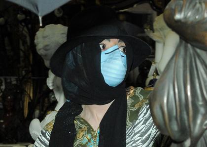 Michael Jackson en boutique d'antiquités