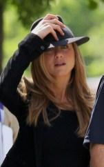 Jennifer Aniston de bonne humeur à New York