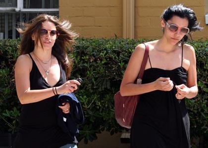 Nikki Reed de retour Los Angeles