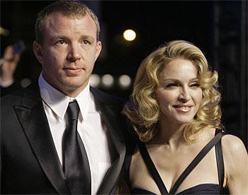 Madonna –Guy Ritchie-Fêtes