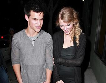 Taylor Lautner - Taylor Swift-Rupture