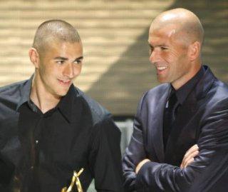 Zidane -Benzema