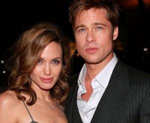 Angelina Jolie-Brad Pitt-Ensemble