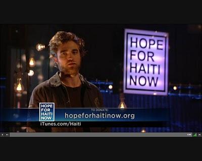 Robert Pattinson – Hope For Haiti