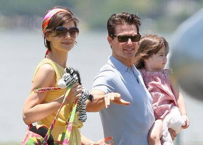 Tom Cruise – Bébé-Katie Holmes