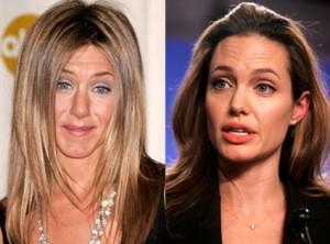 Angelina Jolie Jennifer Aniston guerre
