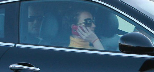 Britney Spears Maserati Photos