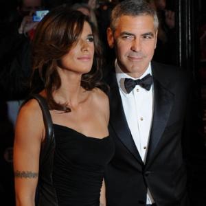 George Clooney-Agacé-Elisabetta Canalis