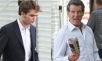 Pierce Brosnan Robert Pattinson agent 007