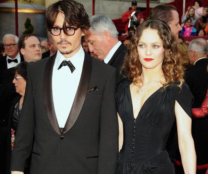 Johnny Depp Vanessa Paradis honneur Cannes