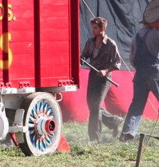Robert Pattinson Toujours occupé avec Water for Éléphants Photos