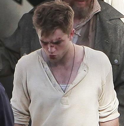Robert Pattinson blessé Water For Elephants Photos