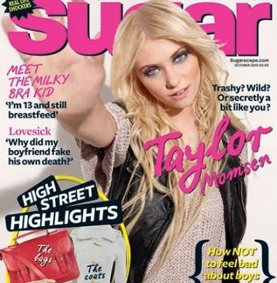 Taylor Momsen rebelle Sugar Photo