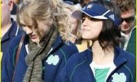 Selena Gomez Taylor Swift fans foot Photos