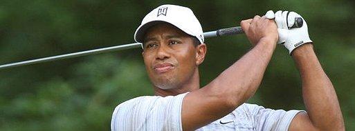 Tiger Woods Sous charme femme âgée