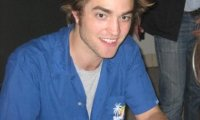 Robert Pattinson tout sourire Austin 2008 Photos
