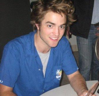 Robert Pattinson tout sourire Austin 2008 Photos