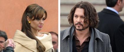 Johnny Depp intimidé par Angelina Jolie