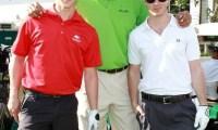 Jonas Brothers- Invités de Jason Taylor Foundation Celebrity Golf Classic