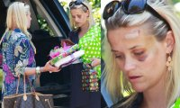 Reese Witherspoon amochée accident