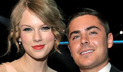 Zac Efron relation Taylor Swift