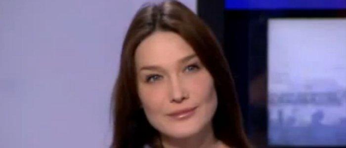 Carla Bruni-Sarkozy Yves Calvi Anne-Sophie Lapix