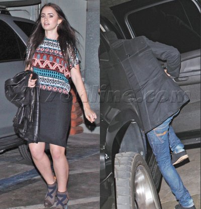 Zac Efron couple Lily Collins