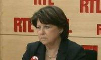 Martine Aubry Valerie Trierweiler discretion