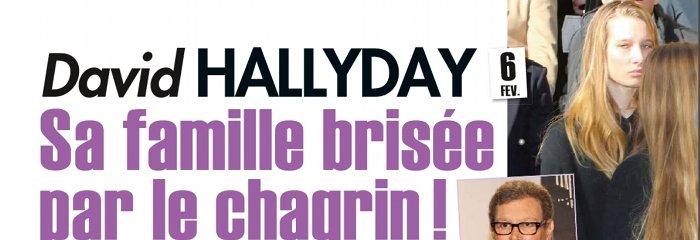 David Hallyday pleure mort son beau-pere