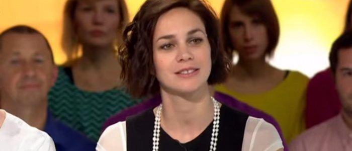 Nathalie Pechalat et Jean Dujardin installes ensemble