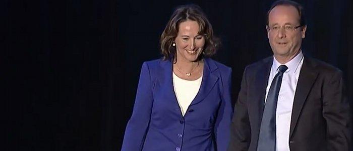 Segolene Royal et François Hollande rapports purement professionnels
