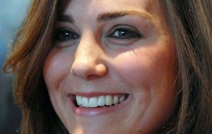 Kate Middleton isolee avec George Anmer Hall