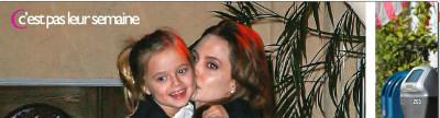 Angelina Jolie en larmes