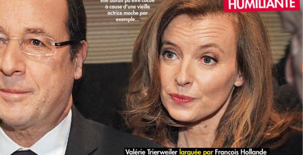 François Hollande et Valérie Trierweiler- Ségolène Royal à l'origine de leur rupture