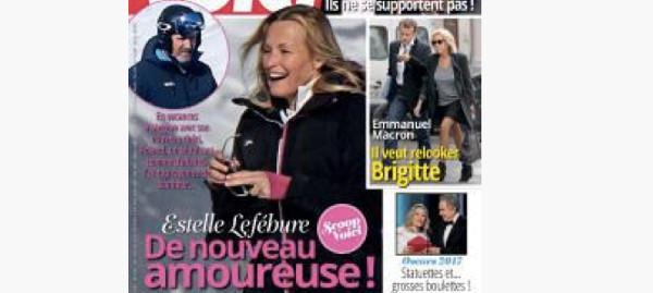 Oublié Pascal Ramette, Estelle Lefébure s'affiche avec un séduisant quinqua dans Voici