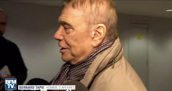 Bernard Tapie évoque son cancer chez Laurent Delahousse dans 19h le Dimanche