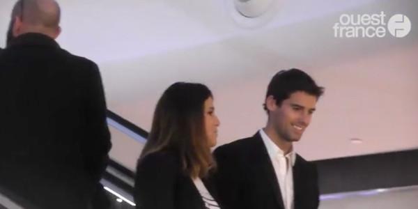 Karine Ferri et Yoann Gourcuff ensemble en public pour la première fois (photo)