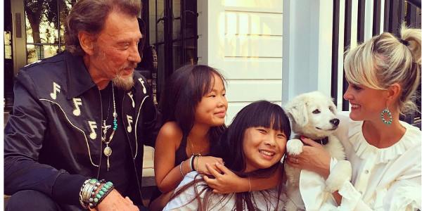 Johnny Hallyday, découvrez  l'émouvant hommage de Jade à son père (vidéo)