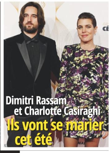 Charlotte Casiraghi et Dimitri Rassam, leur mariage serait prévu à l\u0027ile de  Pantelleria