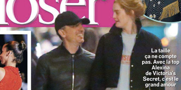 Gad Elmaleh en couple avec Alexina Graham, un top de Victoria's Secret