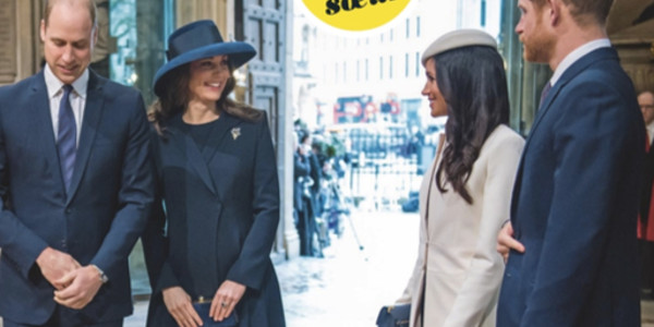 Meghan Markle offre un bracelet en or à Kate Middleton (photo)