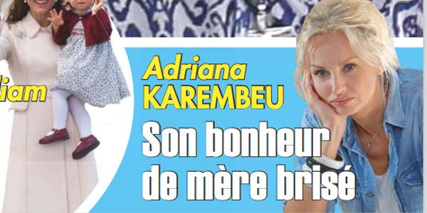 Adriana Karembeu : Son bonheur de mère brisé selon Ici Paris