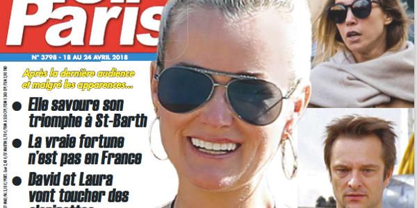 Laeticia Hallyday - Laura et David vont toucher des clopinettes selon Ici Paris