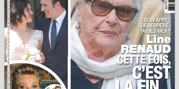 Line Renaud, c'est la fin selon France Dimanche