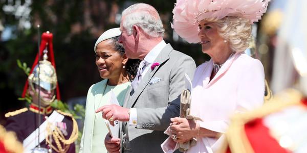 La mère de Meghan Markle très bien accueillie par le prince Charles