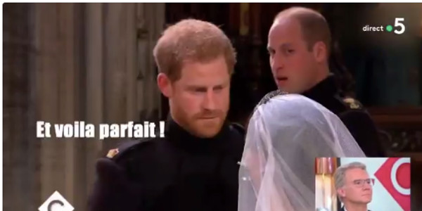 Le prince Harry et Meghan Markle, leurs conversations secrètes durant le mariage dévoilées (vidéo)