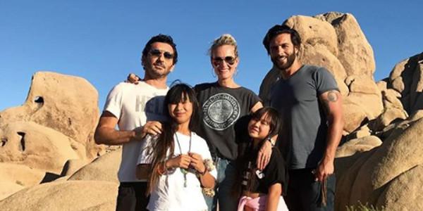 Laeticia Hallyday, Jade et Joy, la visite de Maxim Nucci leur redonne le sourire (photo)
