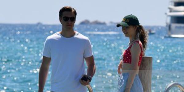 Alexandra de Hanovre et  Ben-Silvester se la coulent douce à St Tropez (photoq)